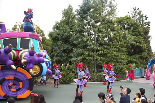 パレードを見る人気の場所