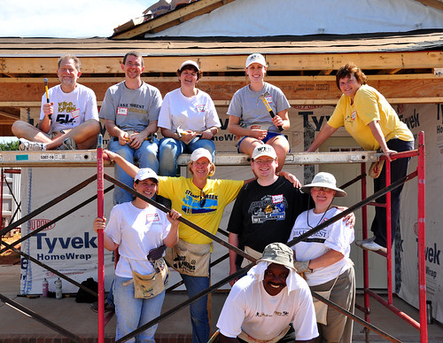 Team ZSR at Habitat for Humanity