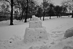 Snow castle (anthony.tison) Tags: city winter sea snow cold finland landscape island boat helsinki
