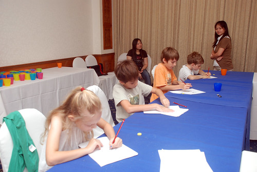caricature workshop for The British Club - 29