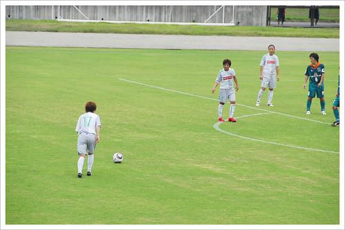 フリーキック@伊賀FC VS 日テレ・ベレーザ