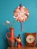 corner in my livingroom (Ingthings) Tags: clock vintage japanese doll turquoise vase showyourhouse