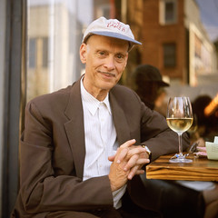 Mr. John Waters (patrickjoust) Tags: street city portrait urban usa man color 120 6x6 tlr film glass smile hat bar rollei analog america john pose square lens person enna us reflex md focus mechanical wine united north patrick twin maryland slide baltimore v chrome automatic pro waters epson medium format munchen 28 states manual 135 500 fest avenue 80 joust e6 f28 hampden werk estados 80mm theavenue reversal unidos 36th v500 hampdenfest ennit rollop 8cm lipca autaut cr200 digibase patrickjoust