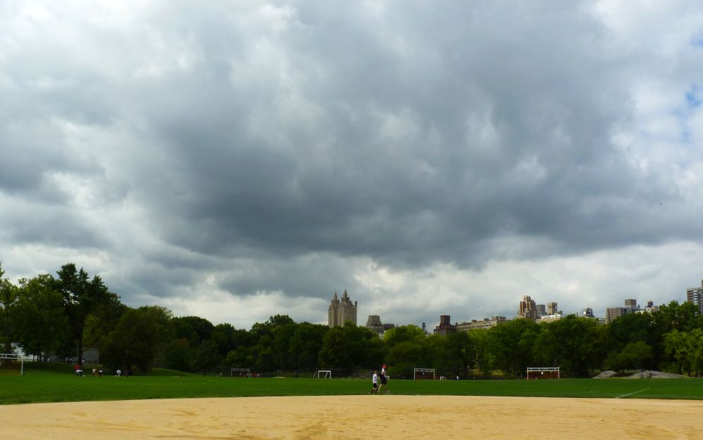 Clouds Over Ballfield