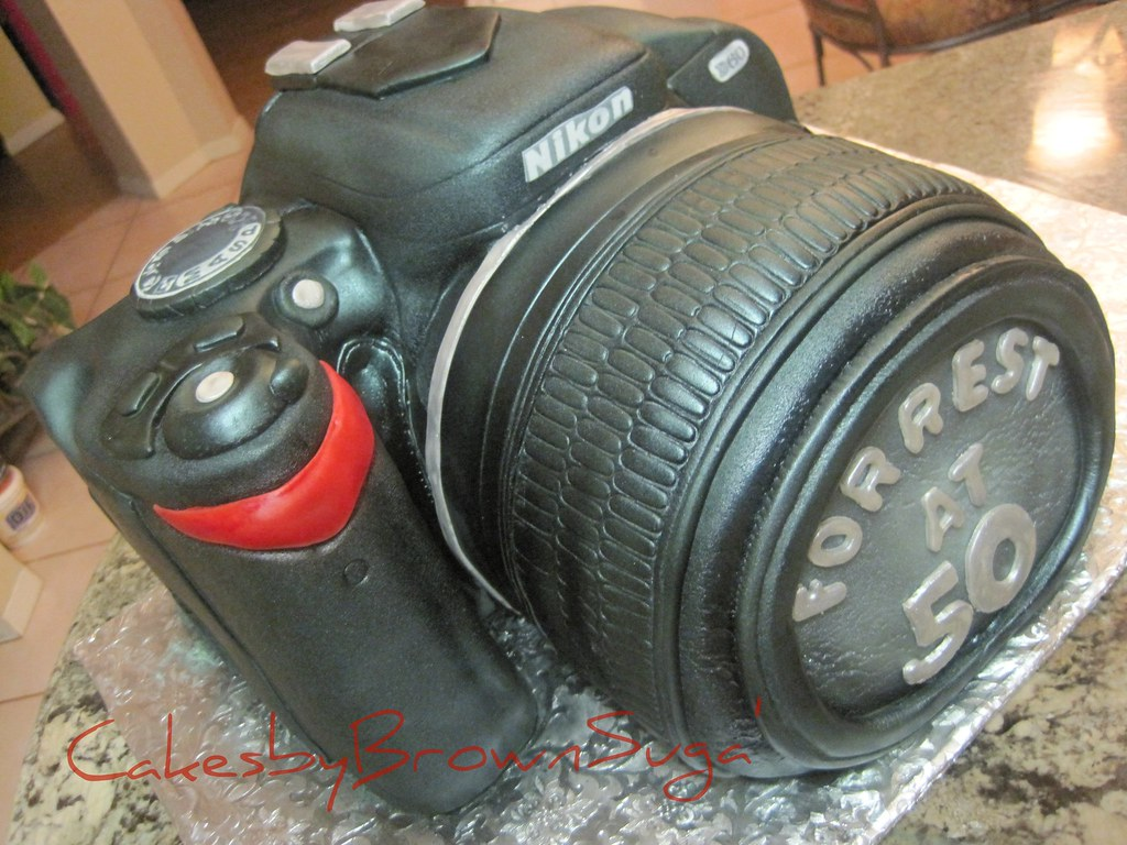 Nikon D60 Camera - Forrest's 50th B-day Cake