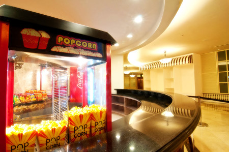 Popcorn and Ticket Sales Counter at Newport Cinema, Resorts World Hotel - Movie Reviews - PinayReviewer.com