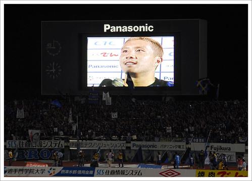 安田理大ヒーローインタビュー@ガンバ大阪 VS セレッソ大阪