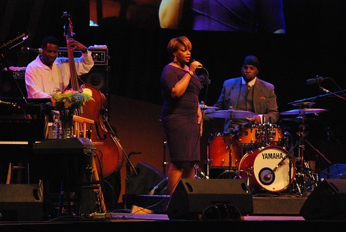 Dianne Reeves and band