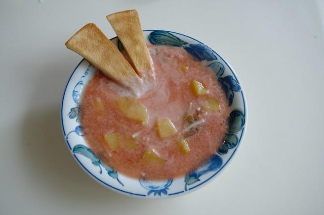 cold pasta soup