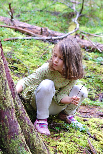 Ada Winterizing the Fairy Houses