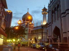 Sultan Mosque from Kandahar Street
