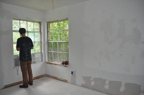 Studio's sunny corner