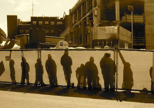 Construction workers, Seattle