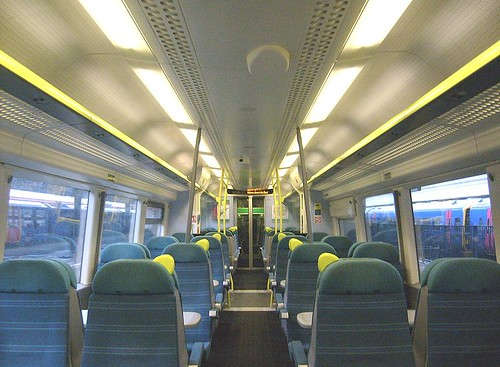 Carriage on the Southern Railway (UK)