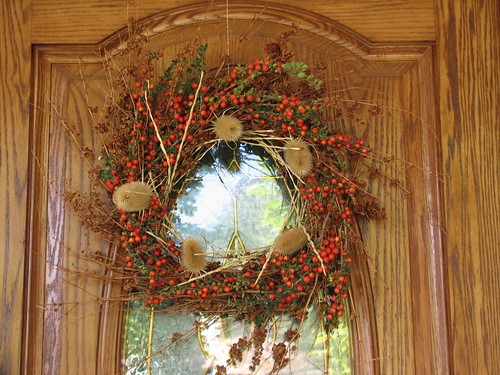 september weed wreath