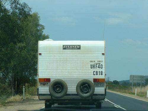 Bugger a  caravan