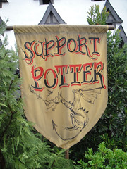 Wizarding World of Harry Potter - Support Potter Triwizard Champion banner