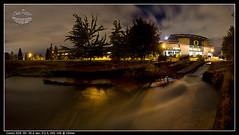 Autzenocturnal (Dave Putzier) Tags: night oregon waterfall football stadium ducks canoe rapids eugene autzen