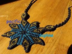 Αστέρι του Λιβυκού (pacificdaphne) Tags: handmade collar macrame makrame artesania hechoamano macramé χειροποίητο κολιέσ μακραμέ