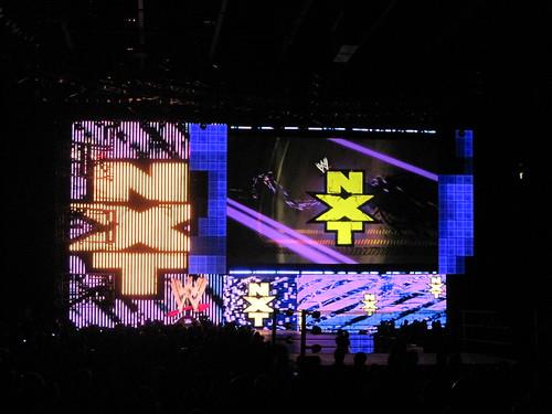 WWE NXT Set