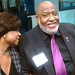 Sharon Lettman-Hicks, Executive Director, NBJC; Darryl Moore, Board Chair, NBJC