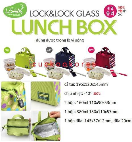 Lock&Lock 7 (lunch box glass)