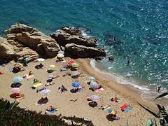 playa nudista entre Calella y Sant Pol (Beatrizflor) Tags: santpoldemar playanudista nudiste calelladelacosta platjanudistaacalella