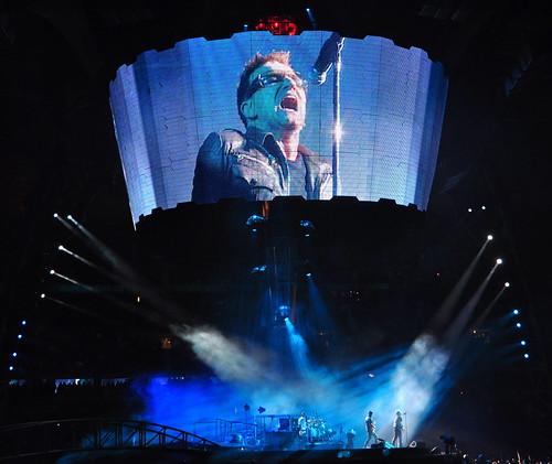 U2 Paris 2010. Stade de France.