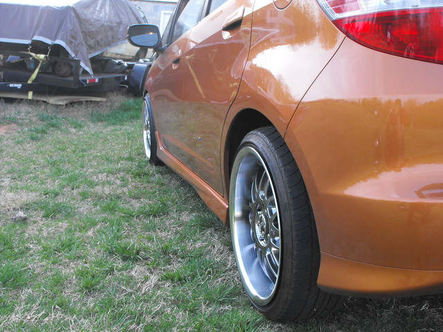 how to get flush wheel fitment