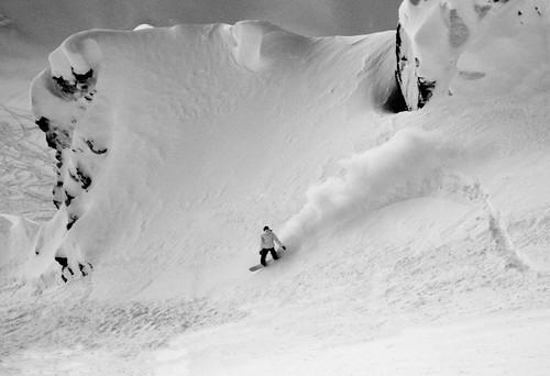 Kicking Horse, BC snowboarder (KHMR)