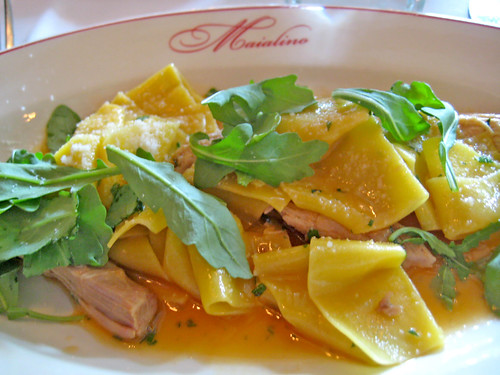 Suckling Pig and pappardelle