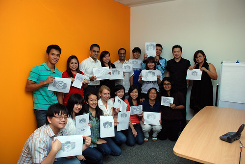 Caricature Workshop for Spire Research & Consulting - 46