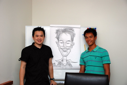 Caricature Workshop for Spire Research & Consulting - 41