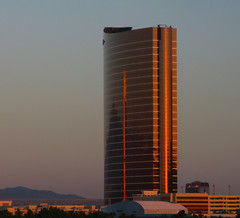 Sunrise on The Wynn Encore (Steve Selwood) Tags: lasvegas thewynnhotel