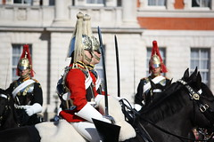 The Grenadier Guards Arrive (andrew_j_w) Tags: army horseguardsparade ceremonial grenadierguards coldstreamguards changingofthguard