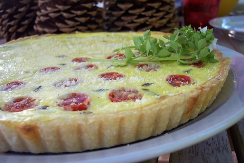 Potato Bacon Quiche Tart 5
