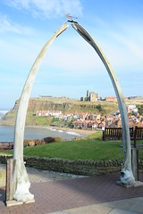 Whale bone arch (dark_dave25) Tags: uk camping england holiday laura dave arch yorkshire north smith whitby whale bone
