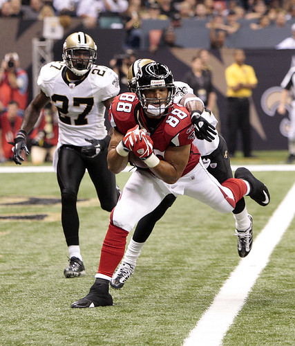 2010 Falcons at Saints