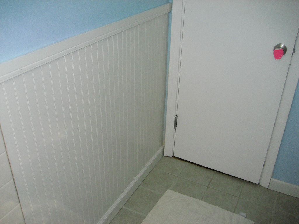 Wainscoting - bathroom