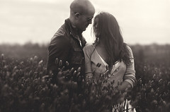 (Dylan-K) Tags: portrait blackandwhite woman man love self evening nikon couple country australia fields nikkor emotive middleofnowhere 85mmf14 dylank joannablu