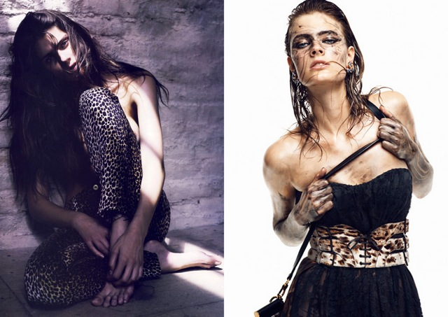 Isabeli Fontana by Mario Sorrenti ,Constance Jablonski by Greg Kadel for Vogue Germany September 2010 dfhj