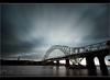 The Bridge. (Digital Diary........) Tags: uk longexposure sky filter nd merseyside widnes movingclouds runcornbridge weldingglass