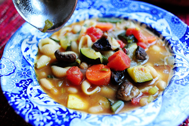 Roasted Vegetable Minestrone | The Pioneer Woman Cooks | Ree Drummond