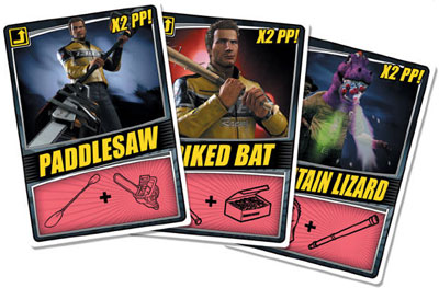 все комбо - карточки в Dead Rising 2, обзор оружия в Dead Rising 2