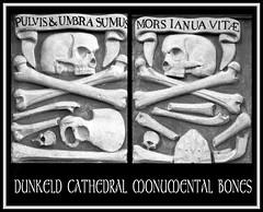 Bones (tina negus) Tags: sculpture church skull scotland cathedral perthshire carving bones