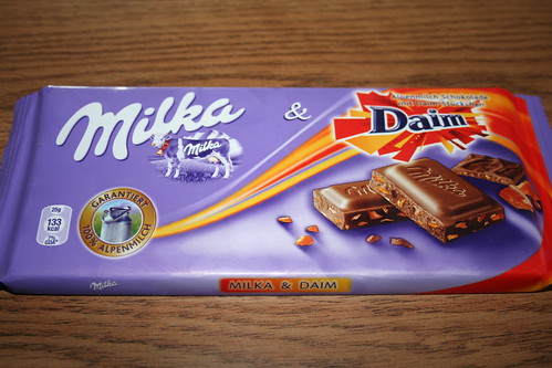 2010-09-17 - Shanghai - Junk Food - 03 - Milka Daim chocolate
