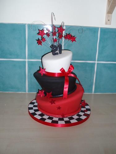Wonky twilight inspired cake