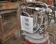 """1941 Wayne 100R Sidearm Gas Pump Converted To A Soda Fountain • <a style=""""font-size:0.8em;"""" href=""""http://www.flickr.com/photos/85572005@N00/5036606164/"""" target=""""_blank"""">View on Flickr</a>"""