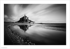 Mont St. Michel at dawn. (Ian Bramham) Tags: longexposure france landscape photography photo nikon fineart lee nd filters montstmichel d700 ianbramham bigstopper 1635vr