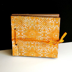 Recycled Lunch Bags Mini Album (Avital Gertner) Tags: recycle recycling minialbum tutorial modpodge videotutorial creativityprompt